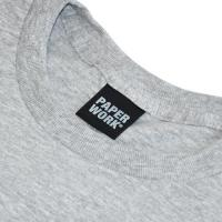 "【Prime LIMITED】 PAPER WORK NYC Tシャツ ""STANDARD ISSUE S/S TEE - GREY"""