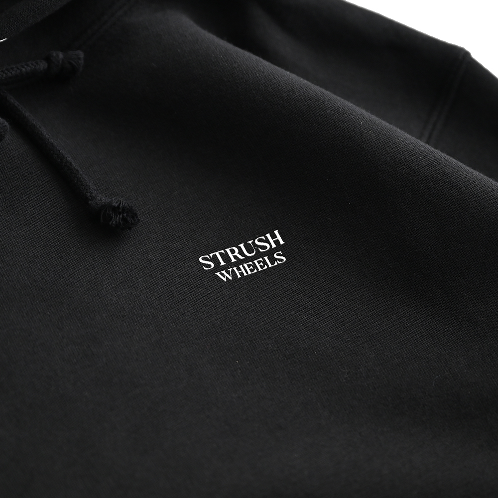 "STRUSH パーカー ""DOLPHY HOODIE - BLACK"""