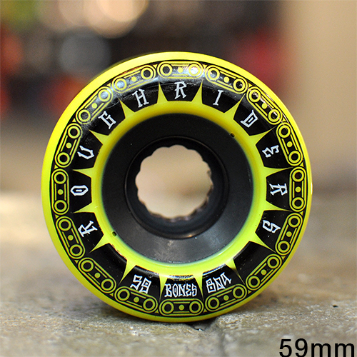"BONES ウィール TEAM  ""ATF ROUGH RIDERS TANK YELLOW - 59MM / 80A""/BONES WHEEL"
