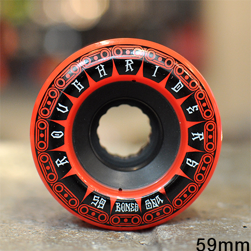 "BONES ウィール TEAM  ""ATF ROUGH RIDERS TANK RED - 59MM / 80A""/BONES WHEEL"