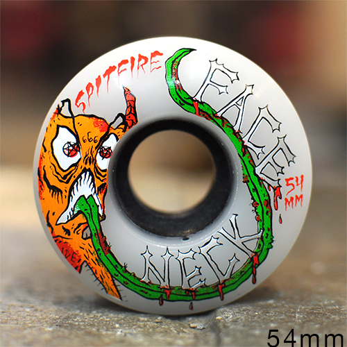 "SPITFIRE ウィール TEAM ""80HD CLASSIC NECKFACE CLEAR - 54MM / 80A""/SPITFIRE"