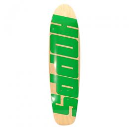 "HOPPS デッキ TEAM ""BIG HOPPS CRUISER NATURAL/GREEN - 7.75"""
