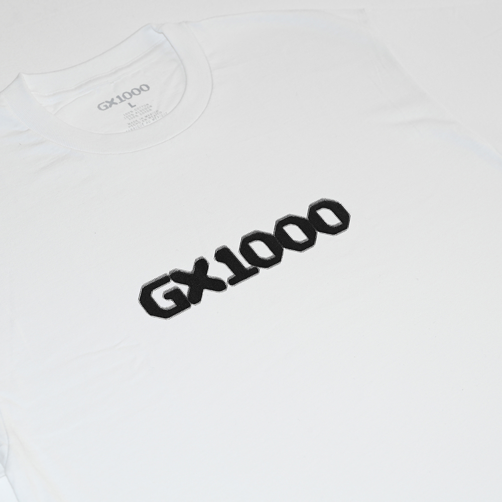 "GX1000 Tシャツ ""DITHERED S/S TEE - WHITE"""