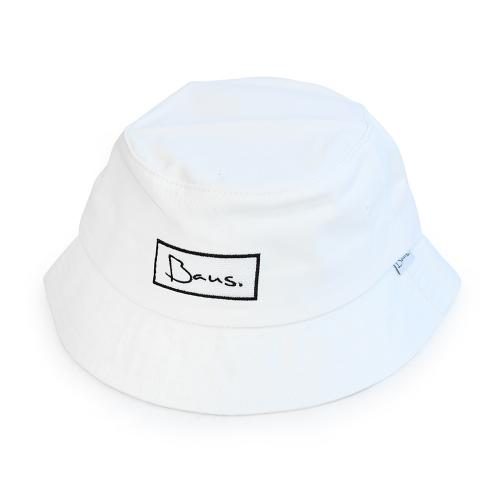 "BAUS ハット ""REGULAR BUCKET HAT - WHITE"""
