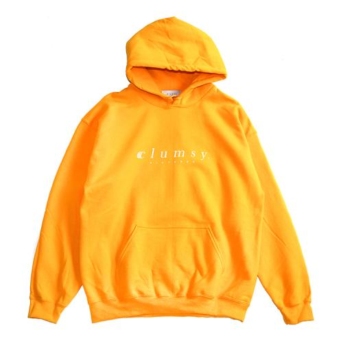 "clumsy. Pictures パーカー ""BARLOGO TEAM HOODY - GOLD""/clumsy. PICTURES"