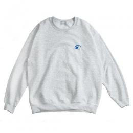 "clumsy. Pictures スエット ""CCC EMB CREW SWEAT - ASH"""