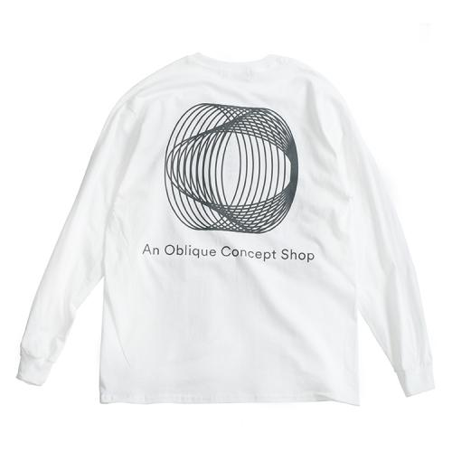 "clumsy. Pictures ロングスリーブTシャツ ""PAKKARD L/S TEE - WHITE""/clumsy. PICTURES"