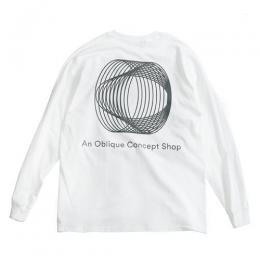 "clumsy. Pictures ロングスリーブTシャツ ""PAKKARD L/S TEE - WHITE"""