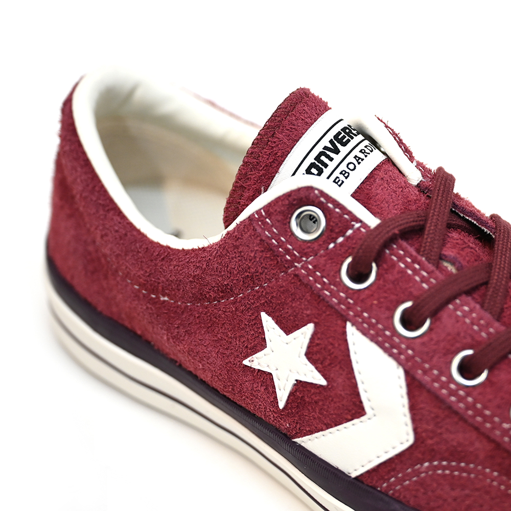 "CONVERSE SKATEBOARDING スケートボードシューズ ""CX-PRO SK SU OX+ - BURGUNDY"""
