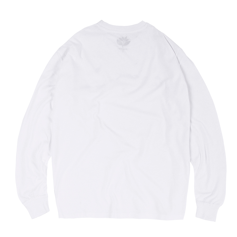 "MAGENTA ロングスリーブ ""LEAP L/S (SP20) - WHITE"""