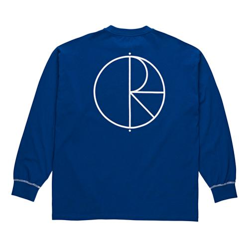 "POLAR SKATE CO ロングスリーブTシャツ ""CONTRAST L/S - DEEP BLUE""/POLAR SKATE CO"
