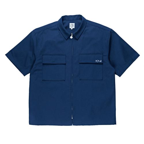 "POLAR SKATE CO Tシャツ ""WORK SHIRTS - NAVY""/POLAR SKATE CO"