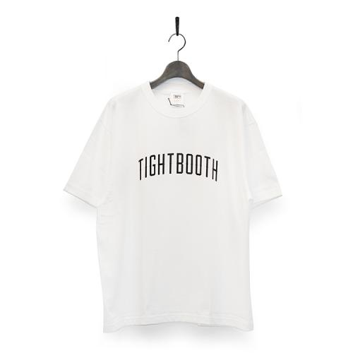 "TIGHTBOOTH PRODUCTION Tシャツ ""COLLEGE TEE - WHITE""/TBPR"