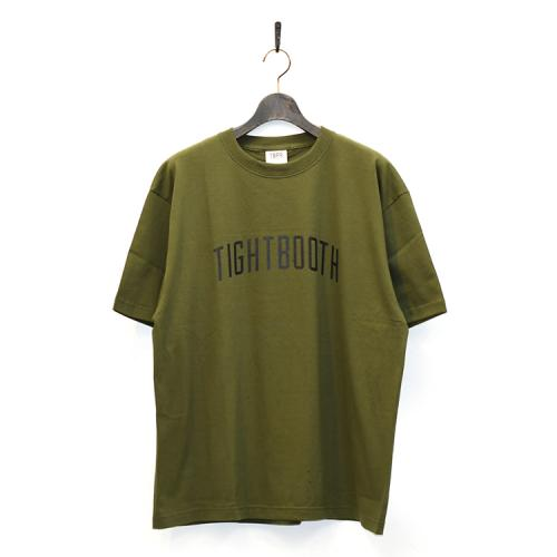 "TIGHTBOOTH PRODUCTION Tシャツ ""COLLEGE TEE - OLIVE""/TBPR"