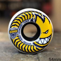 "SPITFIRE ウィール TEAM ""80HD CHARGERS CONICAL WHITE - 54MM / 80A"""