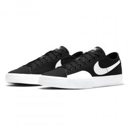 "NIKE SB スケートボードシューズ ""BLAZER COURT - BLACK/WHITE""(CV1658-002)"