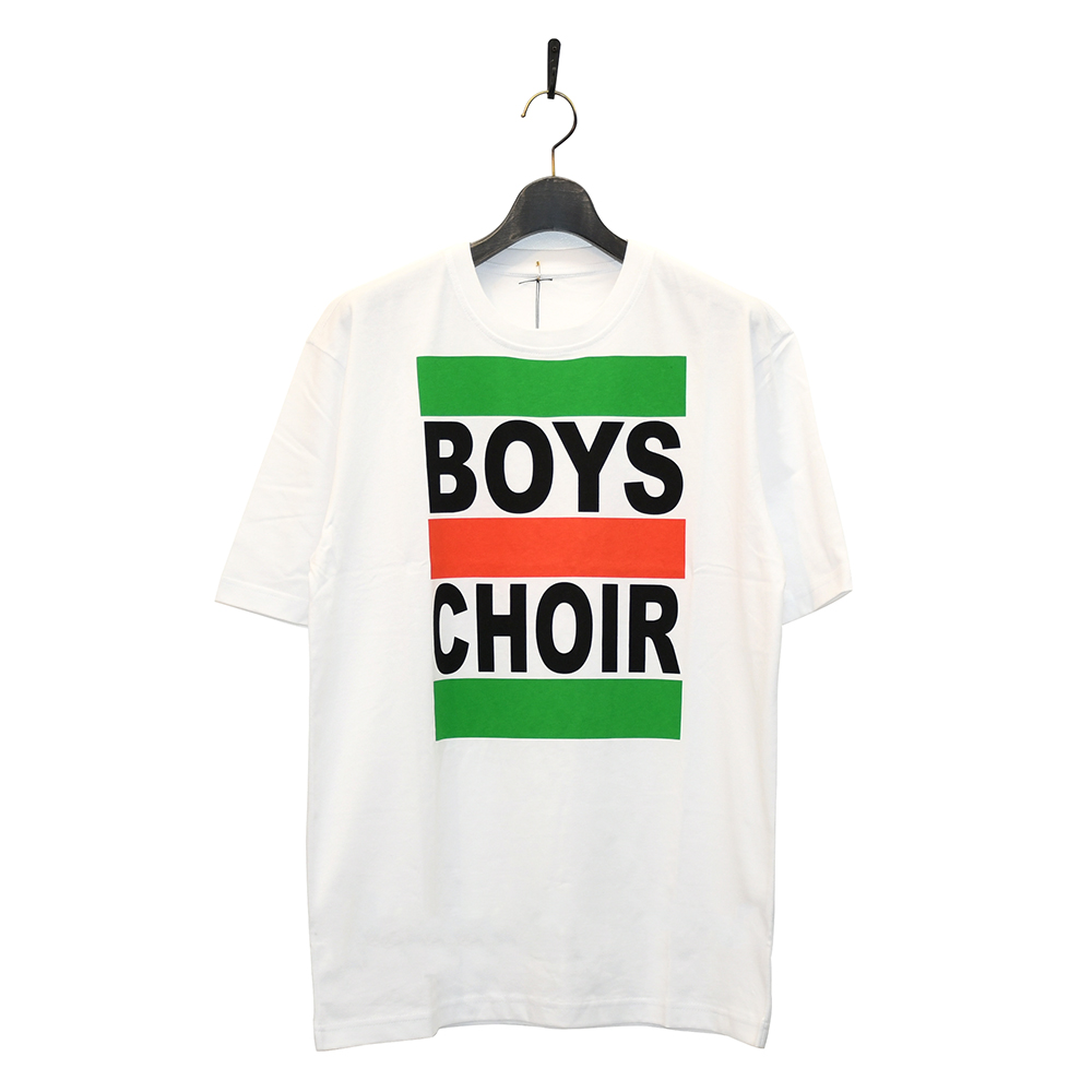 "BOYS CHOIR Tシャツ ""UNITED COLOURS OF BOYS CHOIR TEE - WHITE""/BOYS CHOIR"
