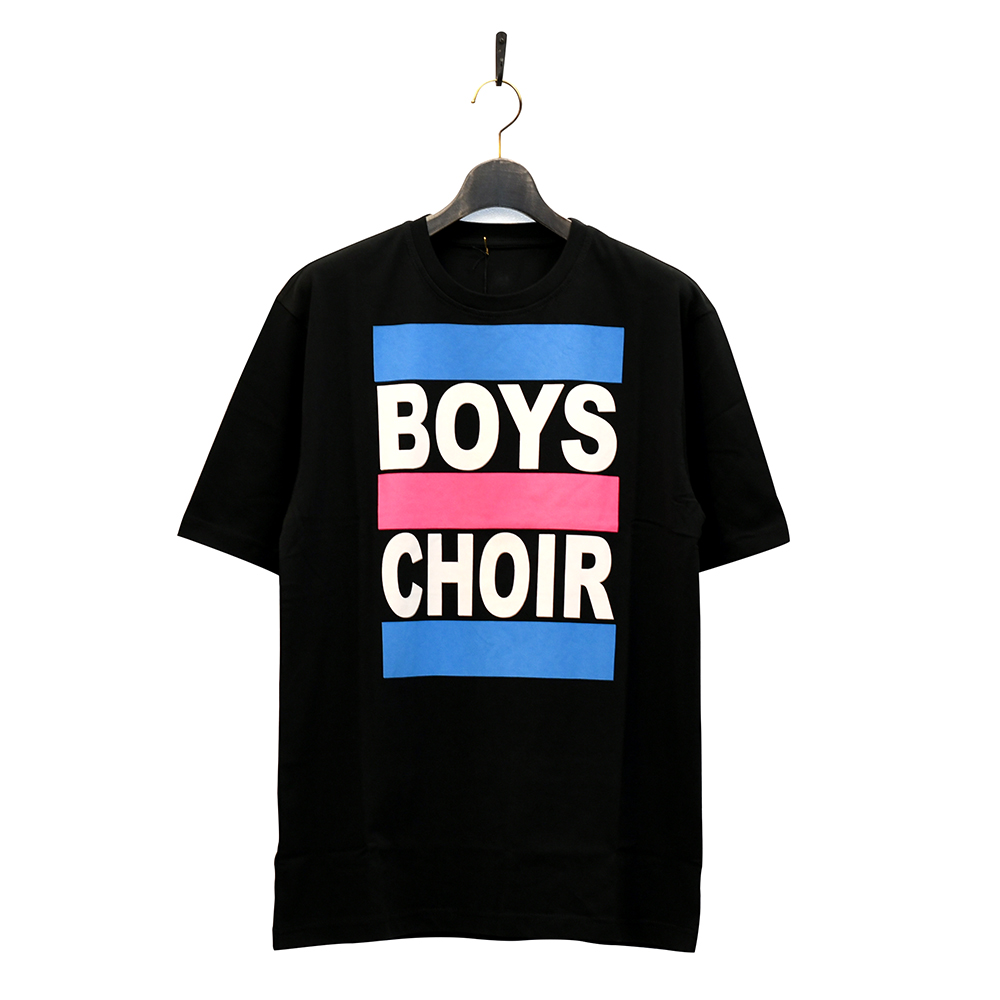 "BOYS CHOIR Tシャツ ""UNITED COLOURS OF BOYS CHOIR TEE - BLACK""/BOYS CHOIR"
