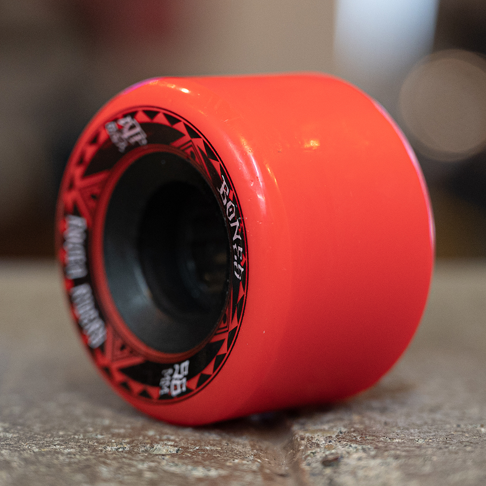"BONES クルーザーウィール TEAM ""ATF ROUGH RIDERS RUNNERS RED - 56MM / 80A"