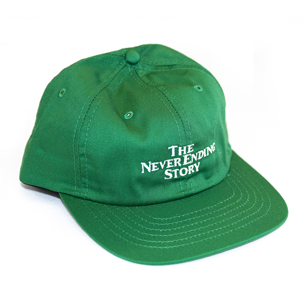 "ALLTIMERS キャップ ""NEVER ENDING STORY CAP - KELLY GREEN""/ALLTIMERS"