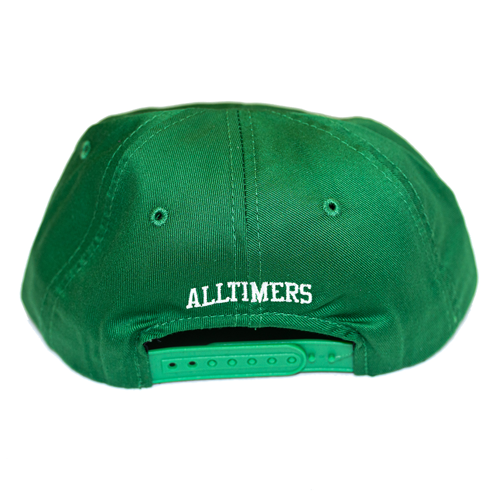 "ALLTIMERS キャップ ""NEVER ENDING STORY CAP - KELLY GREEN"""