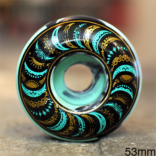 "SPITFIRE ウィール GUY MARIANO ""PRO CLASSICS TURQUOISE BLACK SWIRL - 53MM / 99A"""