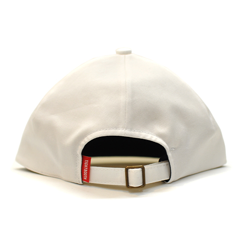 "TIGHTBOOTH PRODUCTION キャップ ""PINCH HEAD CAP - WHITE"""