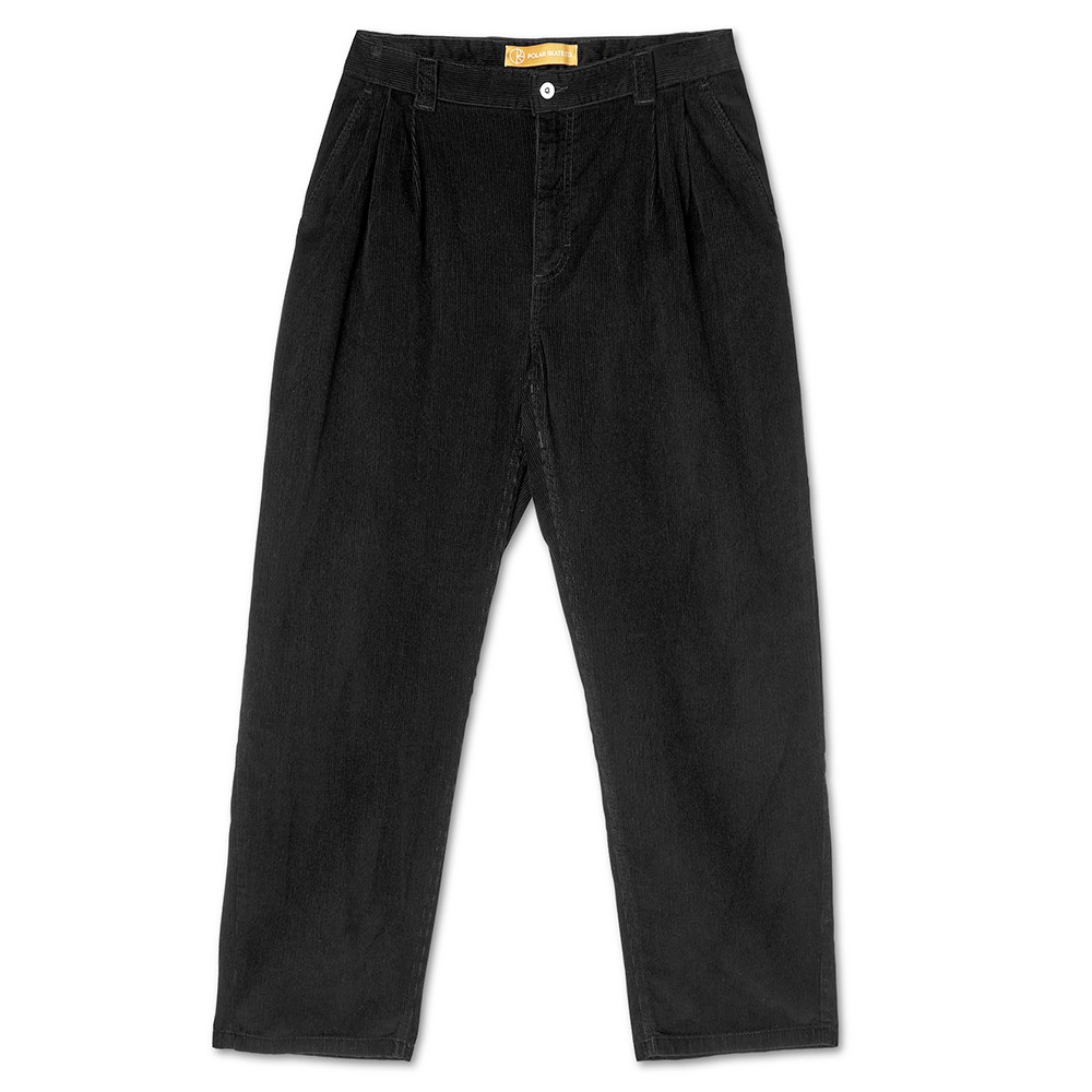 "POLAR SKATE CO パンツ ""GRUND CHINOS PANTS - BLACK"""