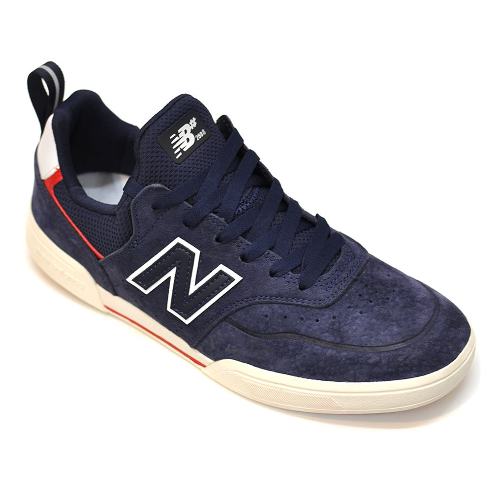 "NEW BALANCE NUMERIC スケートボードシューズ ""NM288S SPJ - NAVY/RED"""