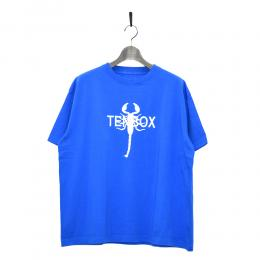 "10匣 Tシャツ ""TENBOX TONY SCORPION TEE - BLUE"""