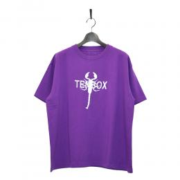 "10匣 Tシャツ ""TENBOX TONY SCORPION TEE - PURPLE"""