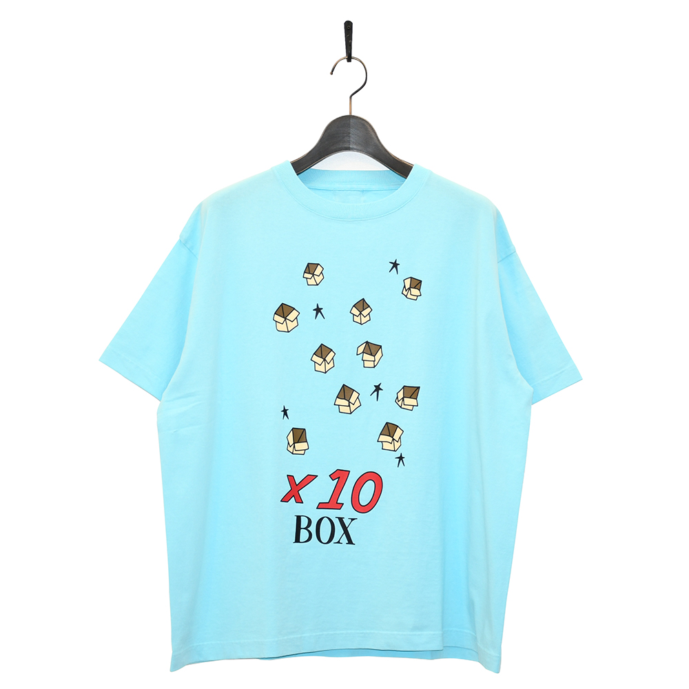 "10匣 Tシャツ ""TENBOX PACKING BRODIE TEE - LT BLUE""/10匣(TENBOX)"