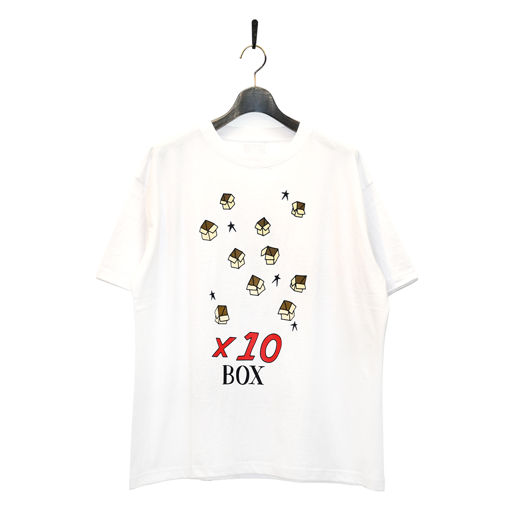 "10匣 Tシャツ ""TENBOX PACKING BRODIE TEE - WHITE""/10匣(TENBOX)"