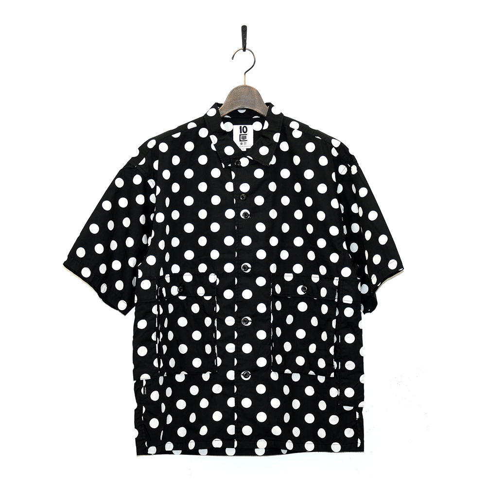 "10匣 半袖シャツ ""TENBOX DRUG DEALER SHIRTS - BLACK""/10匣(TENBOX)"