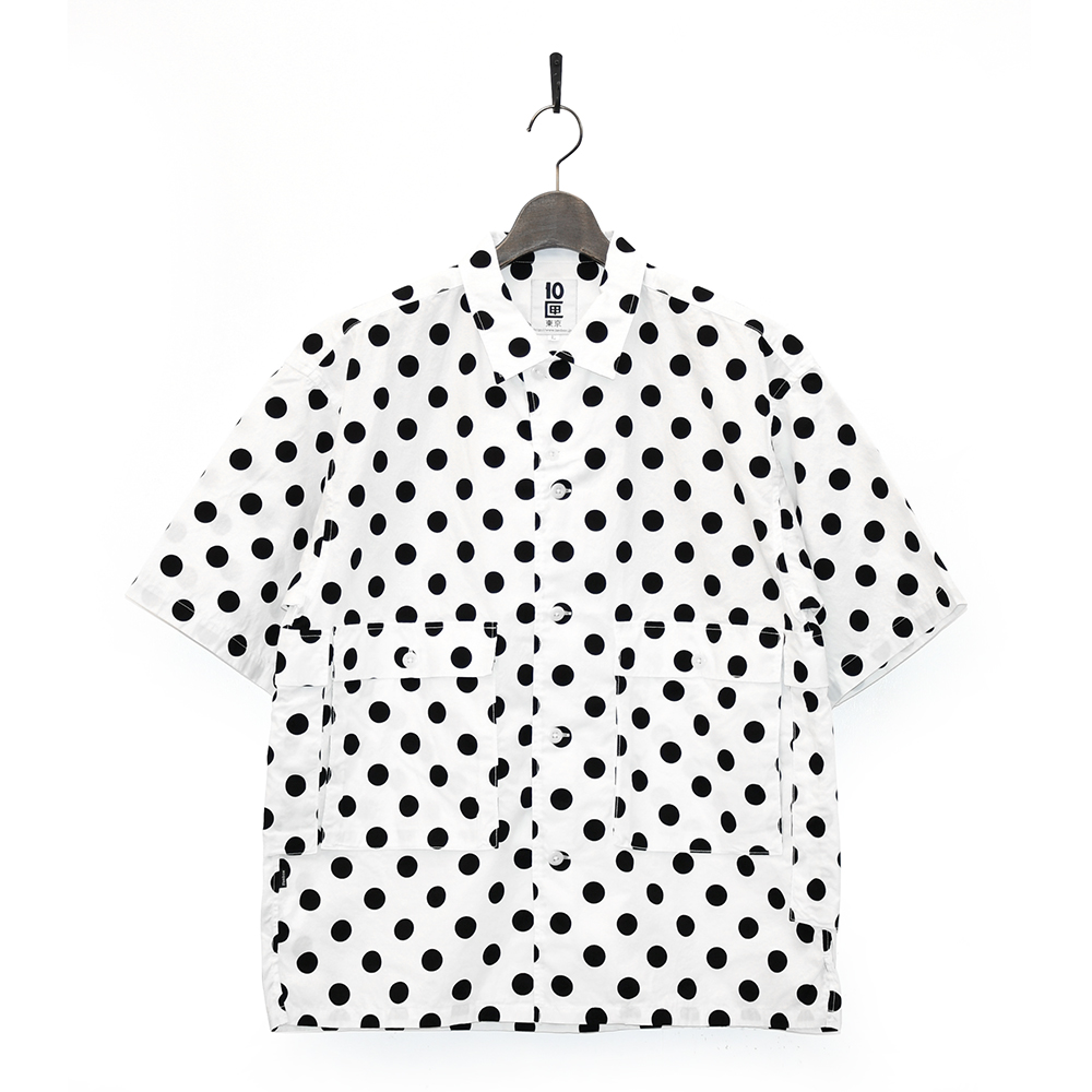 "10匣 半袖シャツ ""TENBOX DRUG DEALER SHIRTS - WHITE""/10匣(TENBOX)"