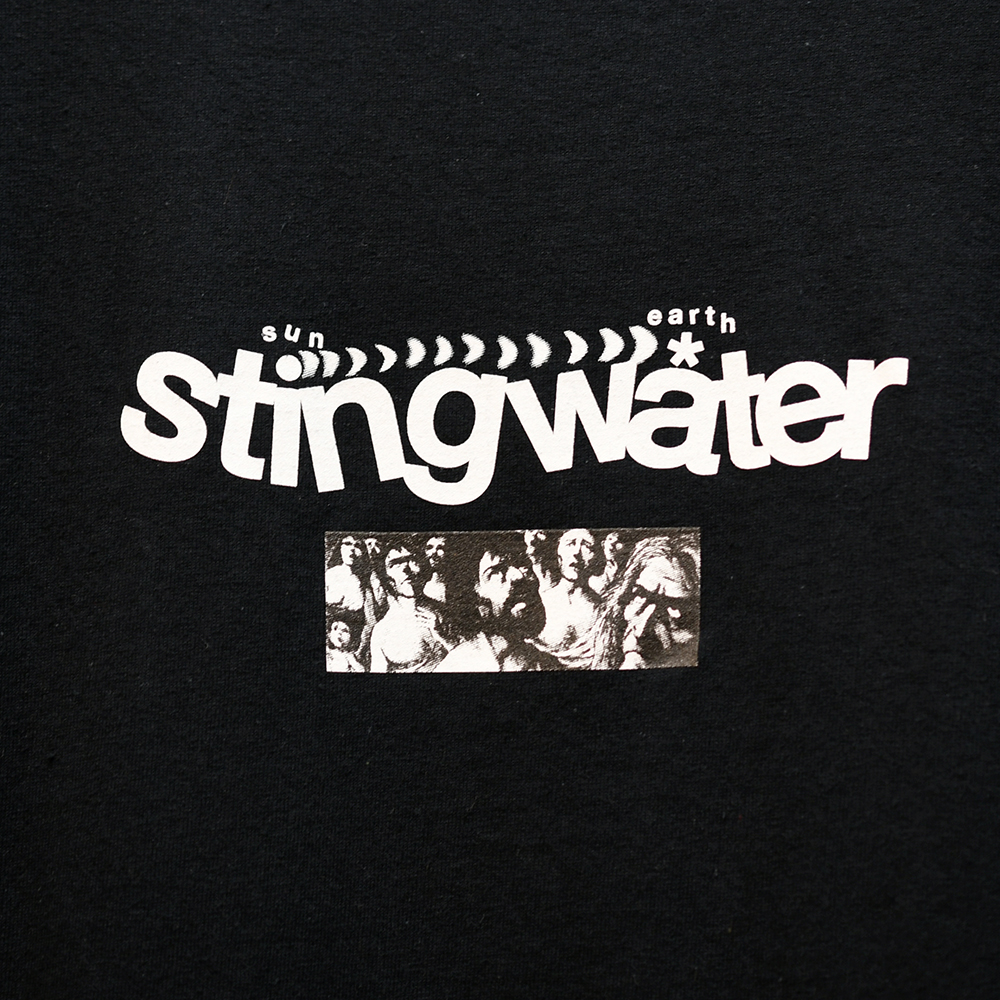 "STING WATER Tシャツ ""DIAGRAM S/S TEE- BLACK"""