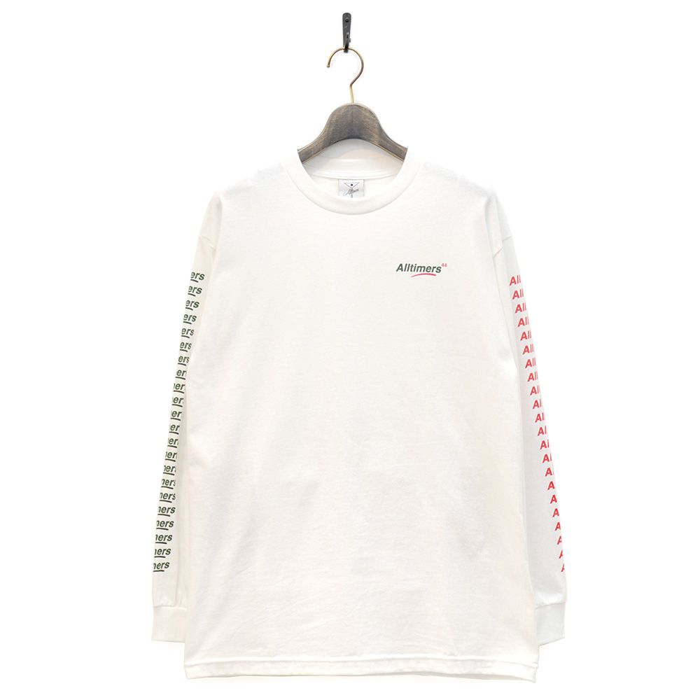 ALLTIMERS ロングスリーブ COUNT IT UP L/S - WHITE/ALLTIMERS