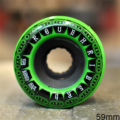"BONES ウィール TEAM  ""ATF ROUGH RIDERS TANK GREEN - 59MM / 80A""/BONES WHEEL"