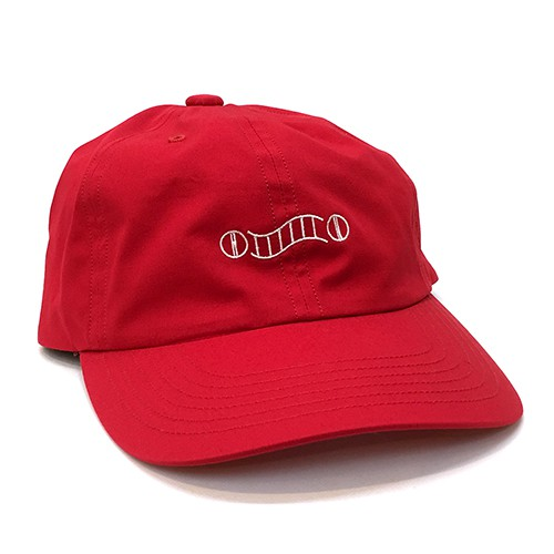 "Hombre Niño キャップ ""COMESANDGOES 6 PANEL CAP (HNS18-AC0004) - RED""/"