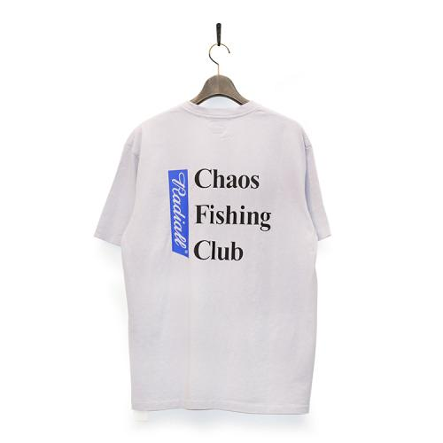 "RADIALL x CHAOS FISHING CLUB Tシャツ ""BLUE HOURS CREW NECK S/S - PURPLE""/CHAOS FISHING CLUB"