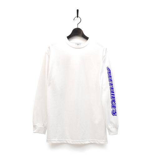 "ALLTIMERS ロングスリーブTシャツ ""CHOCO L/S TEE - WHITE""/ALLTIMERS"