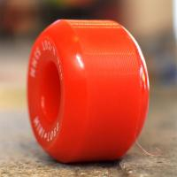 "MINI LOGO ウィール TEAM ""A-CUT2 RED - 53MM / 90A"""