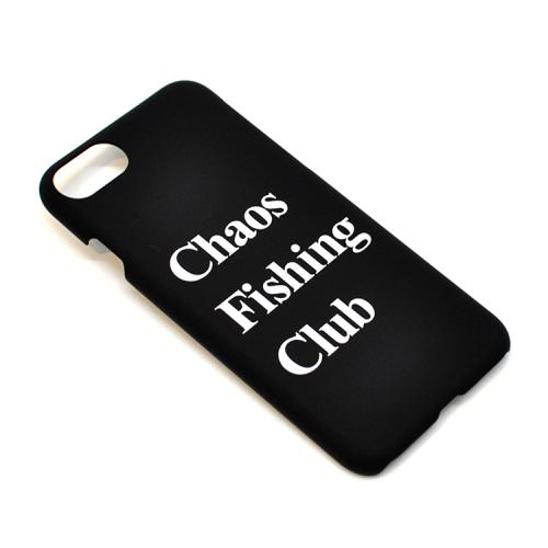 "CHAOS FISHING CLUB iPhone 8 専用ケース ""CFCロゴ - BLACK""/CHAOS FISHING CLUB"