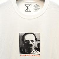 "SOUR SOLUTION Tシャツ ""HANNIBAL TEE - WHITE"""
