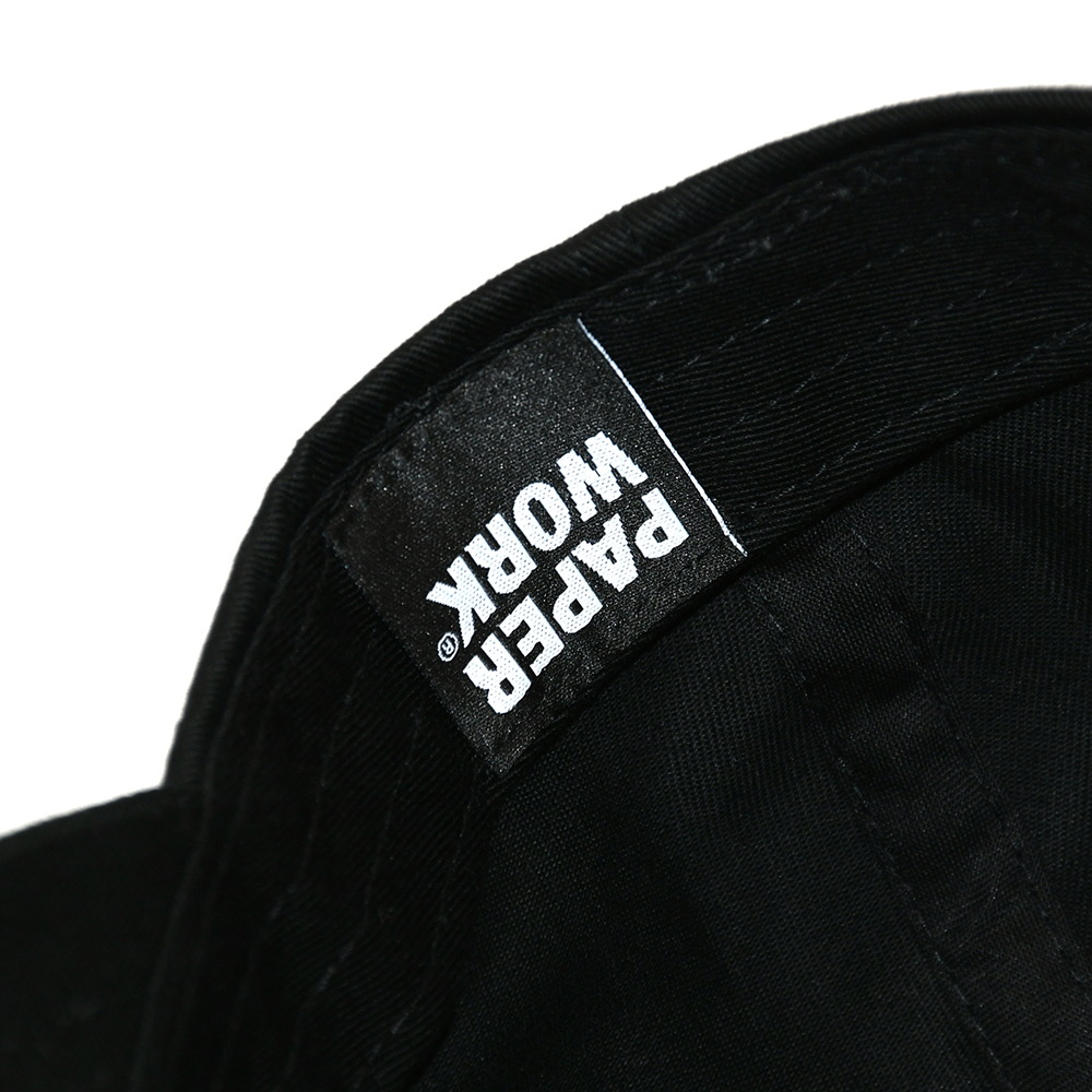 "【Prime LIMITED】 PAPER WORK NYC キャップ ""PARTICIPATE CAP - BLACK"""