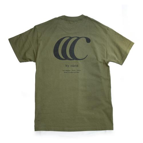 "clumsy. Pictures Tシャツ ""LIMITED CCC S/S TEE - ARMY"""