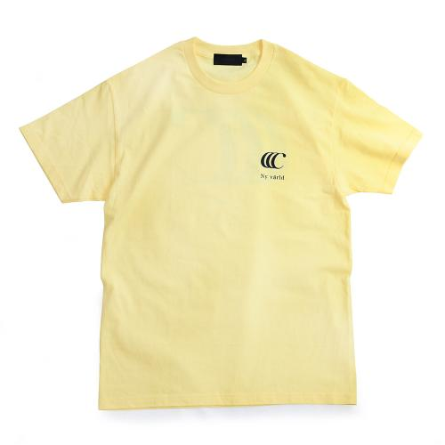 "clumsy. Pictures Tシャツ ""LIMITED CCC S/S TEE - LT YELLOW"""