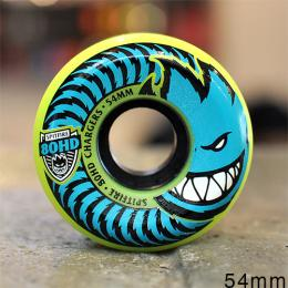"SPITFIRE ウィール TEAM ""80HD CHARGERS CONICAL NEON YELLOW - 54MM / 80A"""
