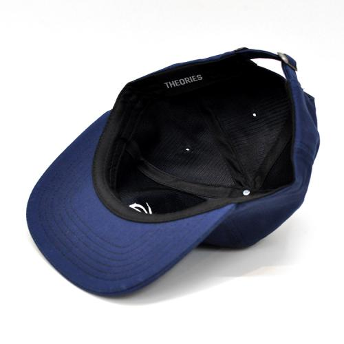 "THEORIES OF ATLANTIS キャップ ""CREST 6 PANEL HAT - NAVY"""