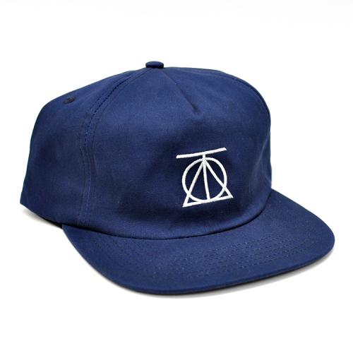 "THEORIES OF ATLANTIS キャップ ""CREST 6 PANEL HAT - NAVY""/THEORIES OF ATLANTIS"